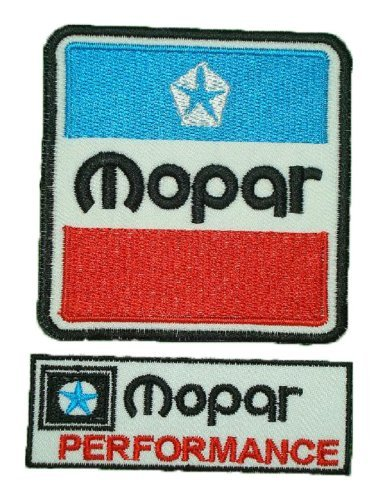 Mopar Performance Part car Racing Iron on Sew on Embroidered Patch