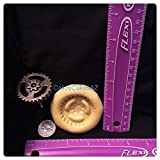 Large Steampunk Gear Fondant Mold Chocolate Candy Gumpaste Soap Resin Clay
