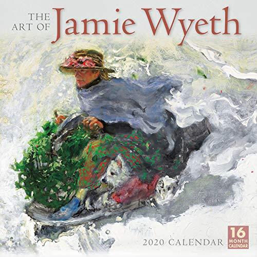 The Art of Jamie Wyeth 2020 Wall Calendar