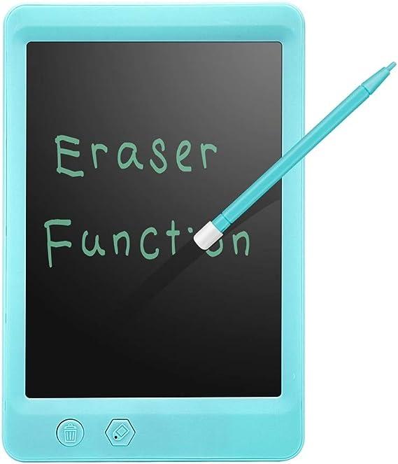 子供の誕生日プレゼントのためのLCD画面ロックと書き込みタブレット8.5インチデジタル描画ボード電子式消去可能スケッチ落書きパッド玩具 ペン&タッチ マンガ・イラスト制作用モデル (Color : Blue)