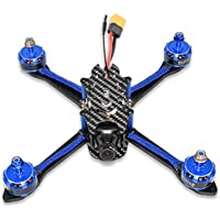 SUKEQBFight 210 5.8G 40CH 25mW/200mW 650TVL CCD Camera F3 Pro FC 30A DShot ESC Flysky Receiver Racing Drone BNF