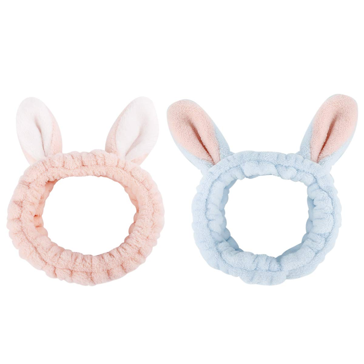 rabbits teen child EASTER knot headband baby adult one size headband hair scarf bunnies