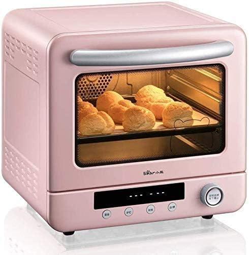 CattleBie パン製造機、電気オーブン家庭用ミニベーキングケーキパン多機能自動20L