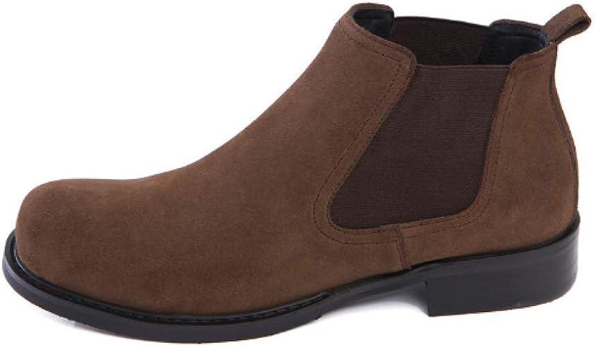 NIUMT Chaussures en Cuir pour Hommes Cas