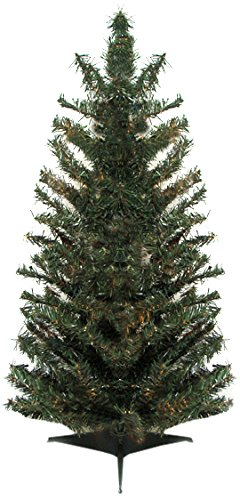 Vickerman Unlit Canadian Pine Artificial Christmas Trees, 2'