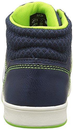 480 Navy Sneakers Lime Green York New Blue Hautes Ferguson Bleu Mid Yankees Garçon w7qqx8UI1