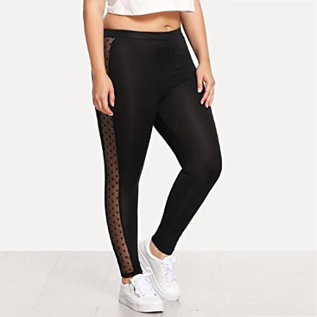 SCOSKT Womens Female Yoga Sports Plus Size Sexy Leggings ...