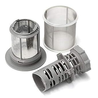 Amazon.com: Juego de 2 filtros de malla para lavavajillas ...