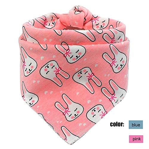 (Jashem Bunny Printed Dog Bandana Easter Egg Pet Bandanas Cat Bandana Cotton Puppy Triangle Bibs Scarf)