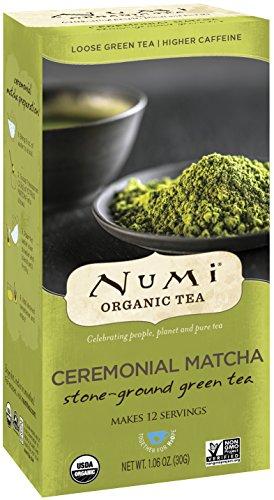 Numi Organic Tea Ceremonial Matcha, 30 Grams / 1.06 Ounces per Box, Highest Grade Japanese Matcha Green Tea Powder