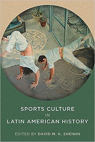 Amazon com: Sports Culture in Latin American History (Pitt Latin