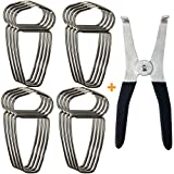 Feiyang Miter Clamps with Spring Pliers For Picture Frames,Wood Trim,Moldings - Woodworking Tools