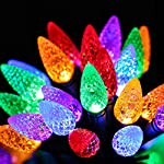 RECESKY-C6-Bulbs-Christmas-Lights-with-Timer-50-LED-164ft-Strawberry-Battery-String-Light-for-Outdoor-Indoor-Mini-Lighting-Decor-Patio-Wreath-Garland-Party-Xmas-Tree-Christmas-Decorations