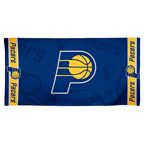 NBA Indiana Pacers Fiber Beach Towel, 30 x 60'', Multicolor by WinCraft