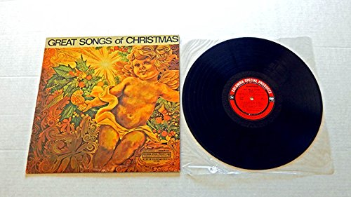 Price comparison product image GREAT SONGS OF CHRISTMAS ALBUM EIGHT (Special For Goodyear Tires) - Columbia Special Products 1968 - USED Vinyl LP Record - 1968 Pressing - W/Tony Bennett - The Brothers Four - Barbra Streisand