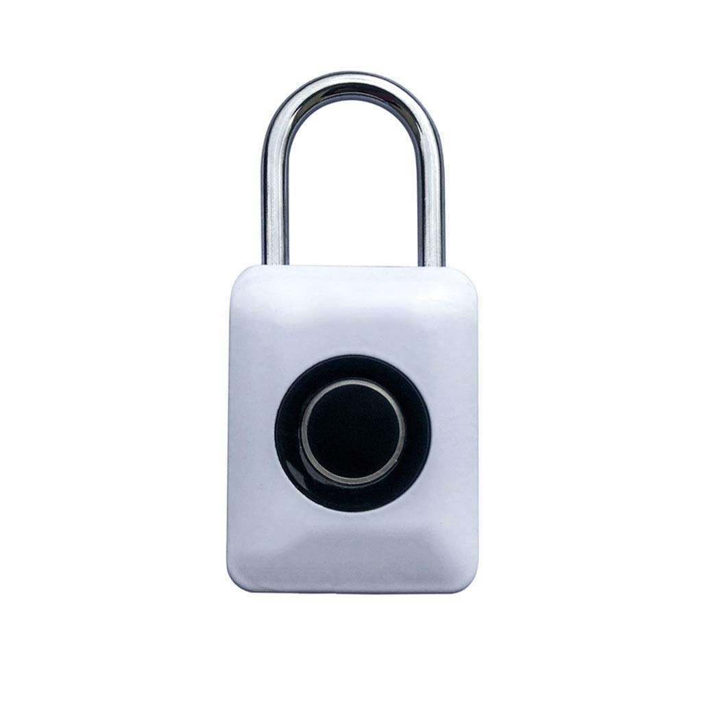 RMXMY Travel Locks Combination Luggage Locks Fingerprint Padlock, Suitable for House Door, Suitcase, Backpack, Gym, Bike, Office (Color : A) by RMXMY (Image #1)