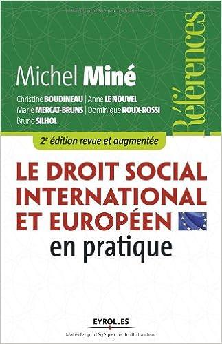 Téléchargement Le droit social international et européen en pratique epub pdf