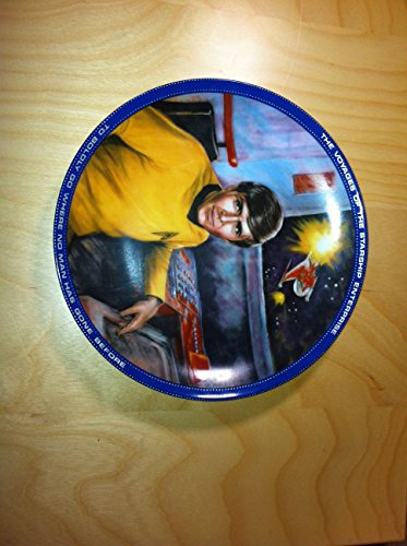 Ernst Enterprises-First Ever Star Trek Plate Collection by Susie Morton On Star Date 1284.15-Chekov