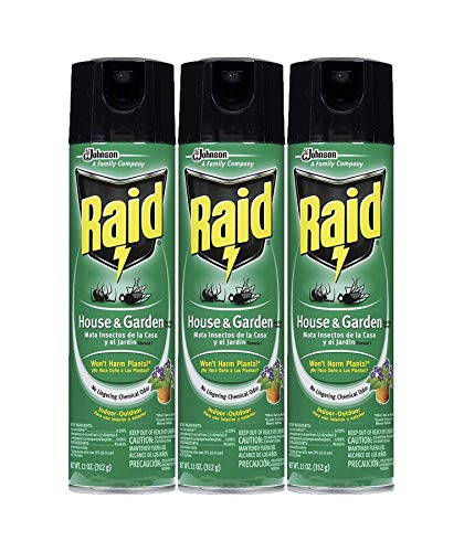 Raid House Garden Bug Killer, 11 OZ (3)