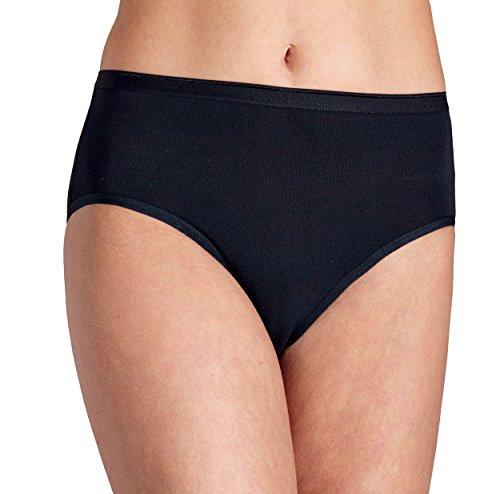 6 x doble Pompadour cintura Slip Maxi Slip Bio-Algodón blanco