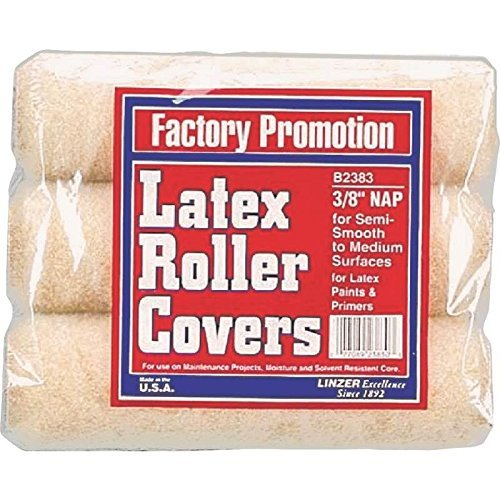 Linzer B 2383 0900 The Project Select Roller Covers (6 Pack) By Linzer