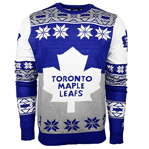 4cd68f30407 Toronto Maple Leafs Ugly Christmas Sweater — Deals from SaveaLoonie!