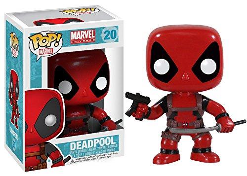 pop marvel deadpool vinyl bobblehead figure