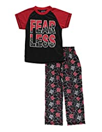 "Mac Henry Big Boys' ""Fear Less"" 2-Piece Pajamas"