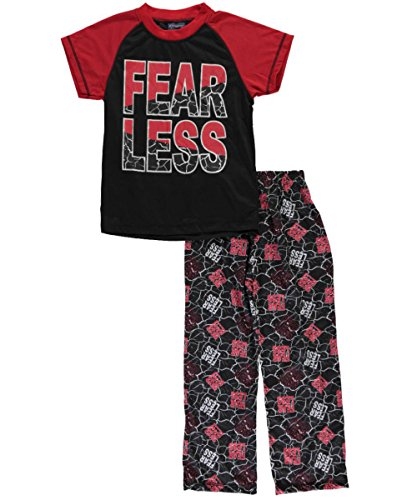 mac-henry-big-boys-fear-less-2-piece-pajamas-red-multi-16-18
