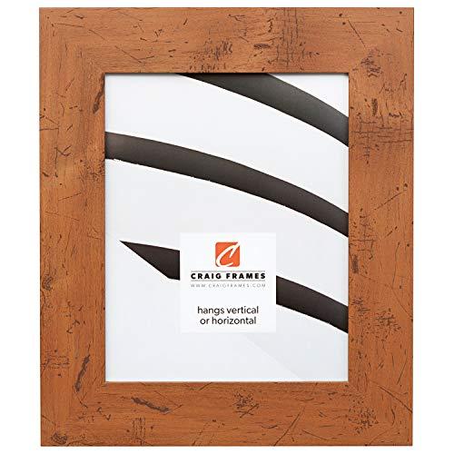 Craig Frames Bauhaus, Modern Rustic Light Walnut Picture Frame, 15 by 27-Inch ()