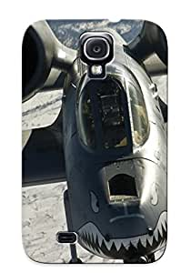 Case For Galaxy S4 Tpu Phone Case Cover(aircraft Military Thunderbolt Ii ) For Thanksgiving Day's Gift