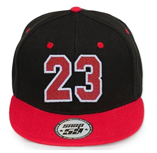 A letras Abc a Z con Baseball rojo Letter Snapback blanco en 4sold 23 Cap Cap PUCAwgnqp