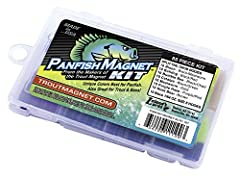 We are proud to announce our newest kit to help you slay panfish. These unique colors have been carefully selected as our best panfish colors. The Panfish Magnet Kit is a collection of our 7 best panfish colors. Perfect in almost every water ...