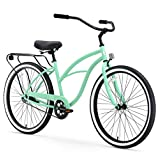 sixthreezero Alrededor del Bloque de la Mujer 1-Speed Cruiser–Ruedas Bicicleta, 43,2cm Frame/66cm