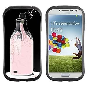 Hybrid Anti-Shock Bumper Case for Samsung Galaxy S3 / Cool Giraffe Painting wangjiang maoyi by lolosakes