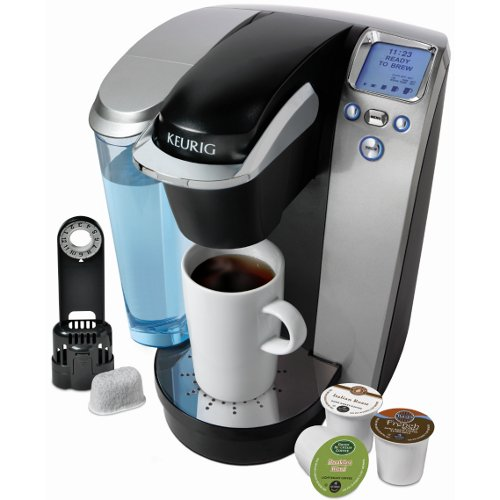 Keurig K75 Platinum Brewing System with Bonus 12 K-cups and Water Filter Kit -B70