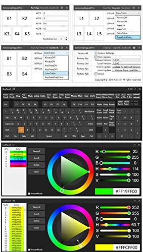 HFSECURITY DIY NONO OSU Gaming Keyboard V4 PC Android 5 Key