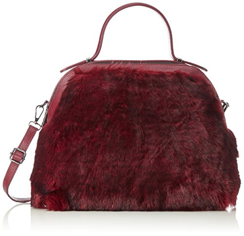 sac à Bordeux Borse Rouge Bordeux Chicca 8473 main RCgppqF