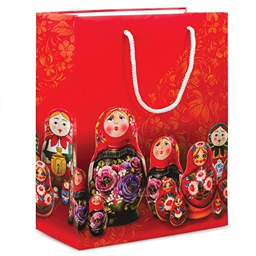 Nesting Dolls Exclusive Design Gift Bag - Exclusive Nesting Dolls