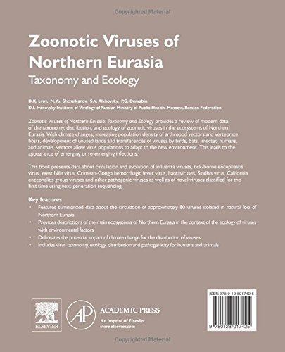 Zoonotic Viruses of Northern Eurasia: Taxonomy and Ecology