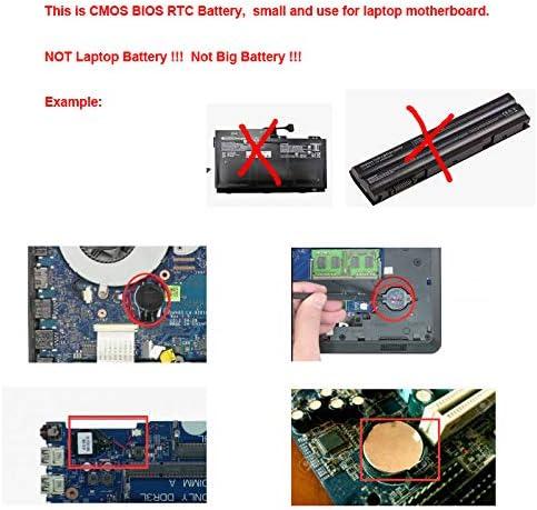DBTLAP CMOS RTC Batterien kompatibel f/ür Dell Axim PDA X3 X3i X30 X30i CMOS BIOS RTC Batterien