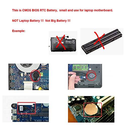 DBTLAP CMOS Battery Compatible for Dell Latitude E6420 CMOS Battery