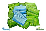 Health & Personal Care : ClinicalGuard 40 Ovulation Test Strips & 10 Pregnancy Test Strips Combo