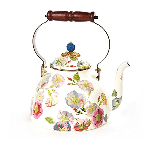 MacKenzie-Childs Morning Glory Tea Kettle - 3 Quart by MacKenzie-Childs