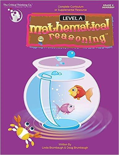 Mathematical Reasoning Through Verbal Analysis: Level A: Doug ...