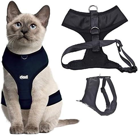 dexil - Arnés Acolchado e Impermeable para Gatos: Amazon.es: Productos para mascotas