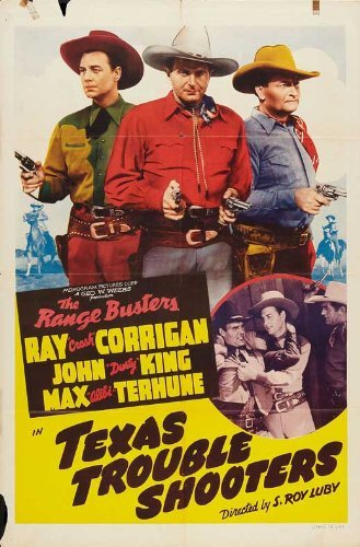 Texas Trouble Shooters POSTER Movie (27 x 40 Inches - 69cm x 102cm) (1942) (Style B)