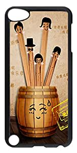 iPod Touch 5 Cases & Covers - Funny Bachelor PC Custom Soft Case Cover Protector for iPod Touch 5 - Transparent