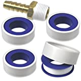 """4-Rolls Tape Thread & Fitting Sealant 1/2"""" x 520"""" Roll"""