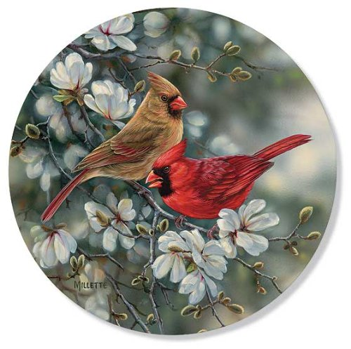 - Cardinals Coasters by Rosemary Millette
